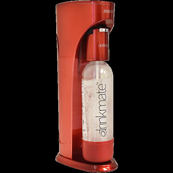 Drinkmate das ultimative Wasser sprudel Gerät in rot