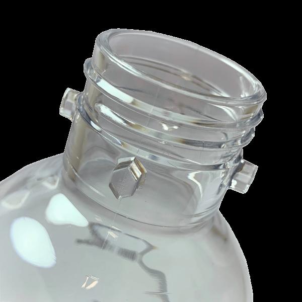Bayonette Verschluss der Drinkmate Flasche zum einrasten des patentierten Fizz Infusers