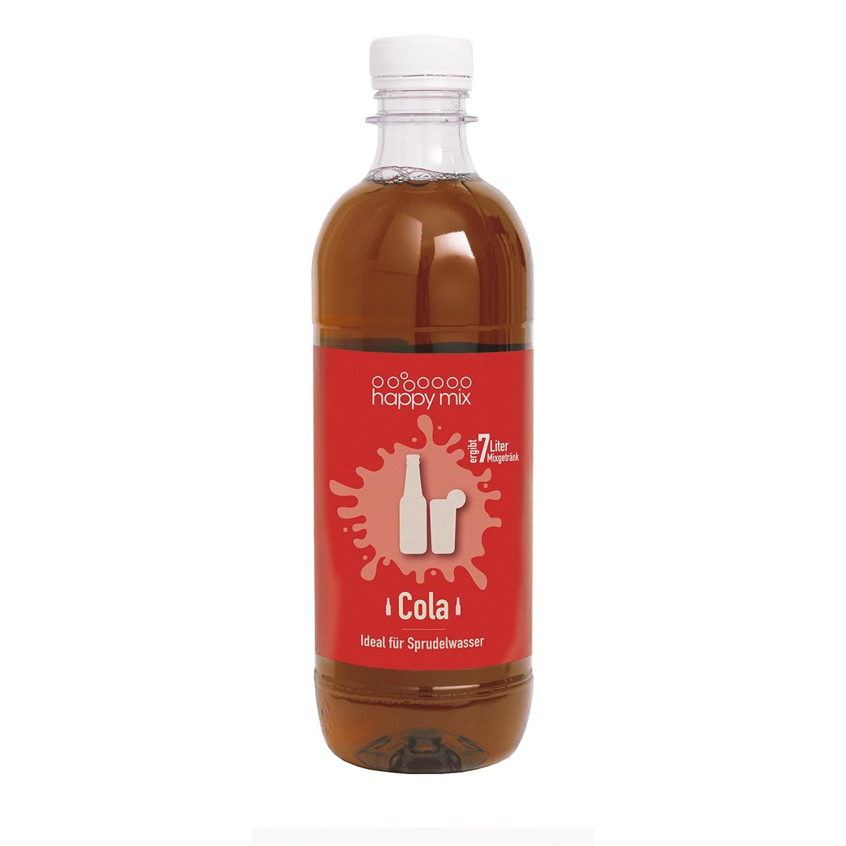 Happy mix Sirup für Wassersprudler Cola 500ml