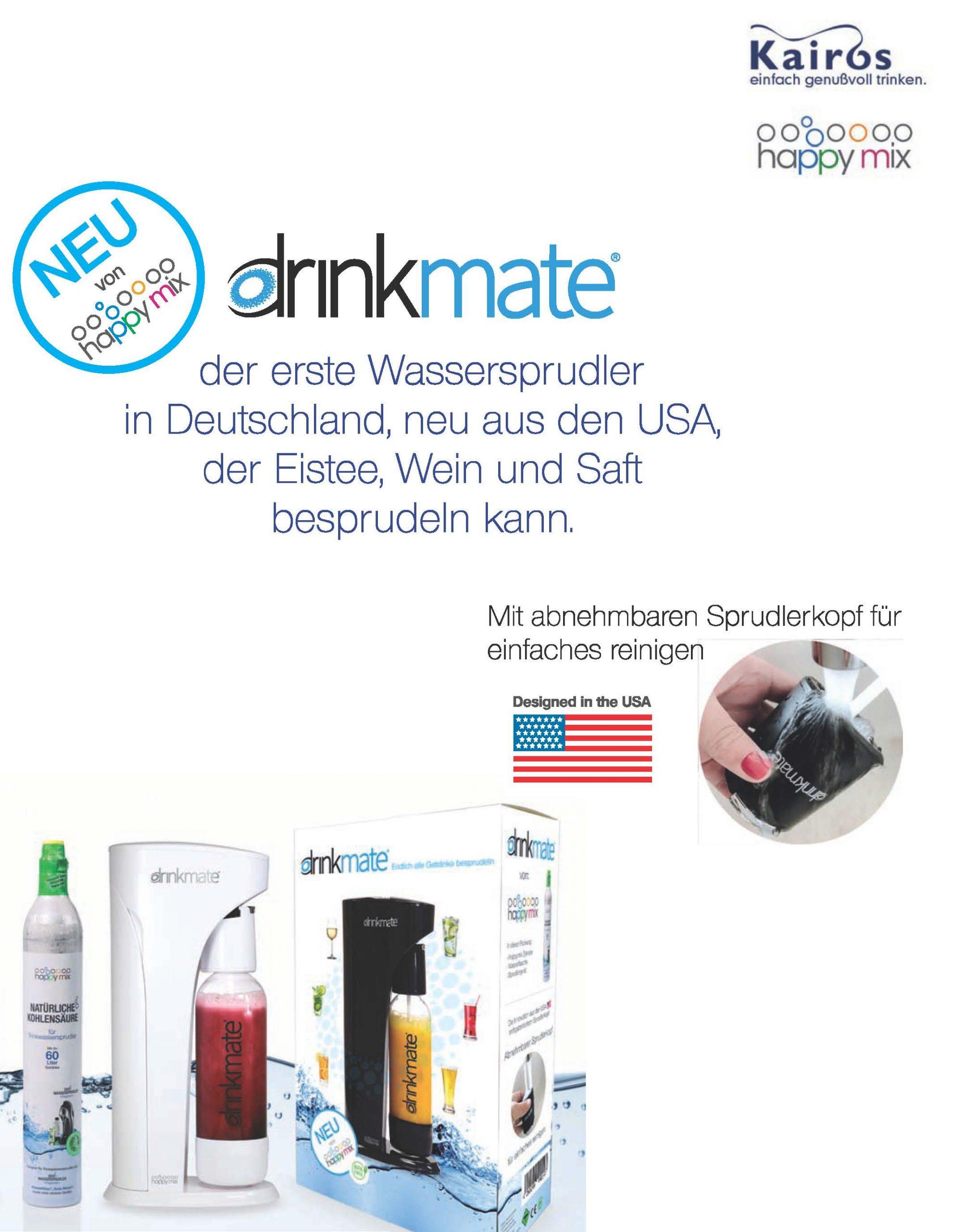Drinkmate Beschreibung