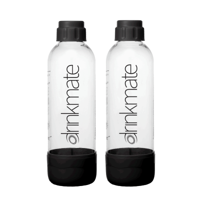 Angebot Set Drinkmate Wassersprudler 2 x 0,5l Ersatzflasche