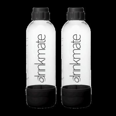 Angebot Set Drinkmate Wassersprudler 2 x 1l Ersatzflasche