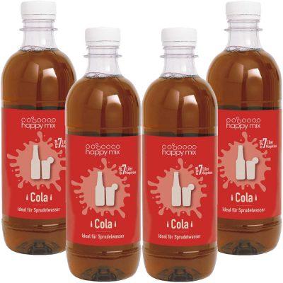 Drinkmate Sirup für Wassersprudler Cola Set 4 Stück