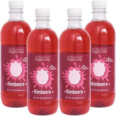 Drinkmate Sirup für Wassersprudler Himbeere Set 4 Stück