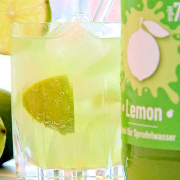 Happy mix Sirup für Wassersprudler Lemon 500ml