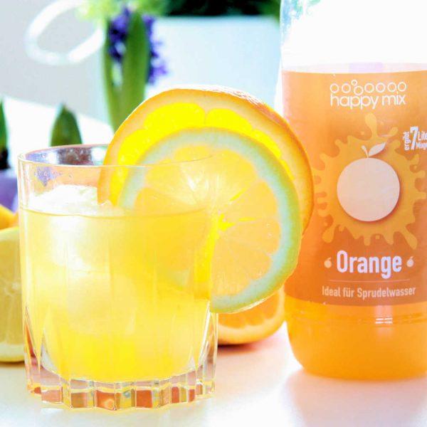 Happymix Sirup für Wassersprudler Orange 500ml